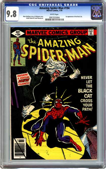 CGC Graded Comics - Amazing Spider-Man #194 (CGC)