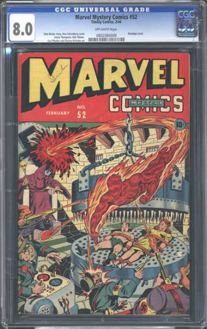CGC Graded Comics - Marvel Mystery Comics #52 (CGC)