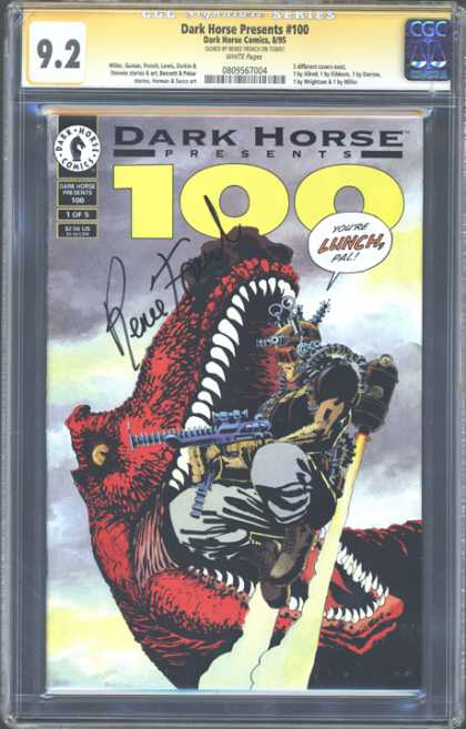 CGC Graded Comics - Dark Horse Presents #100 (CGC)