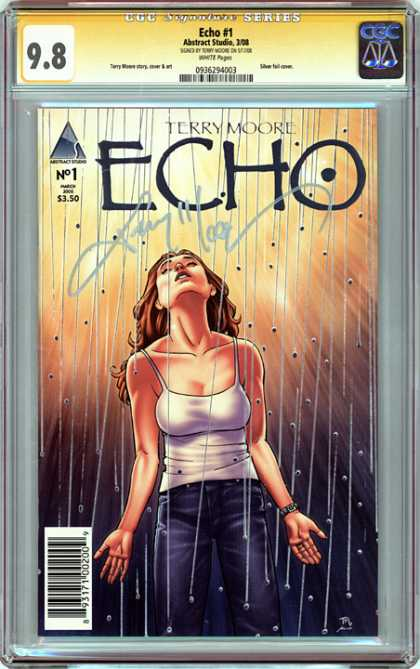 CGC Graded Comics - Echo #1 (CGC) - Echo - Terry Moore - Abstract Studio - Comic - No1