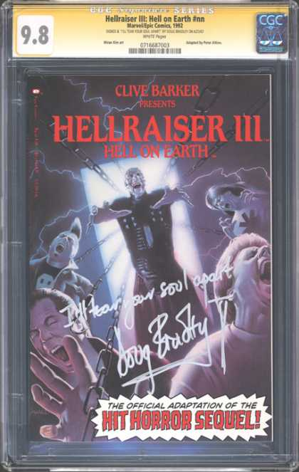 CGC Graded Comics - Hellraiser III: Hell on Earth #nn (CGC)