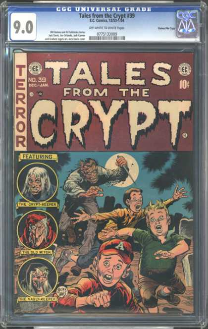 CGC Graded Comics - Tales from the Crypt #39 (CGC)