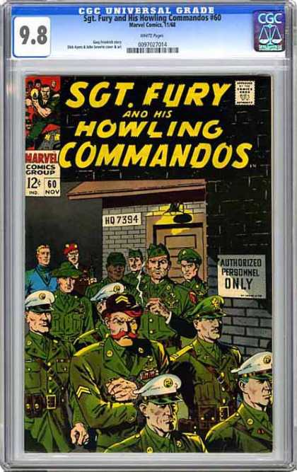 CGC Graded Comics - Sgt. Fury and His Howling Commandos #60 (CGC)