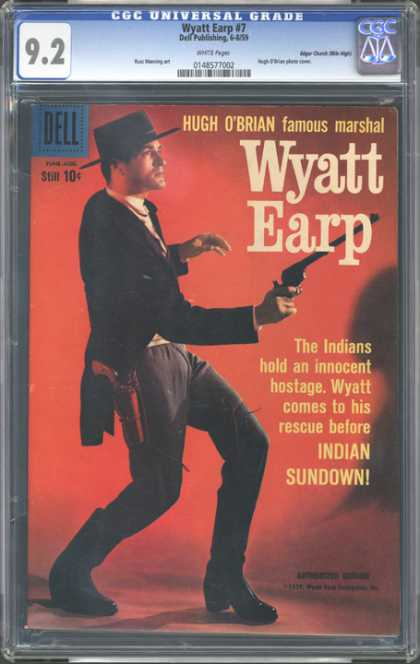 CGC Graded Comics - Wyatt Earp #7 (CGC)