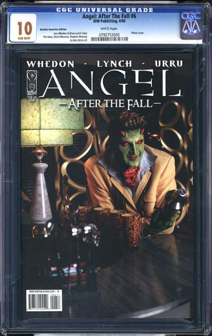 CGC Graded Comics - Angel: After the Fall #6 (CGC)