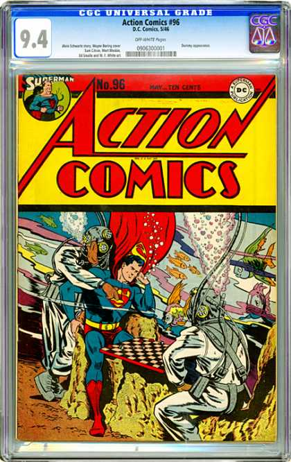 CGC Graded Comics - Action Comics #96 (CGC)