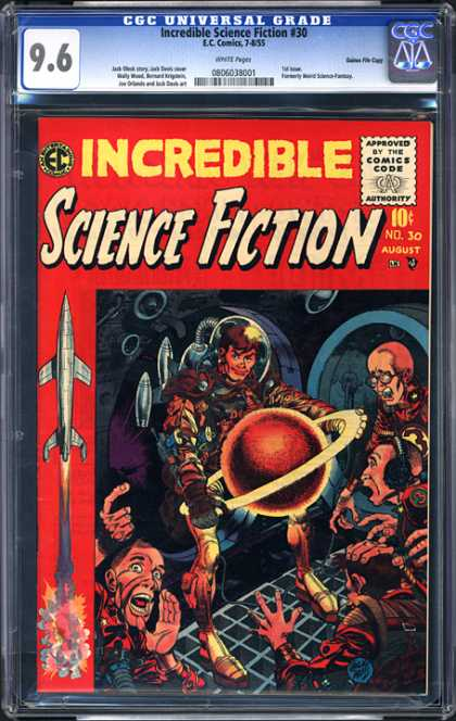 CGC Graded Comics - Incredible Science Fiction #30 (CGC) - Incredible Science Fiction 30 - Ec - 10c - August