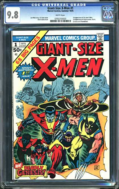 CGC Graded Comics - Giant-Size X-Men #1 (CGC)