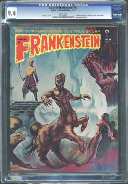 CGC Graded Comics - Castle of Frankenstein #21 (CGC)