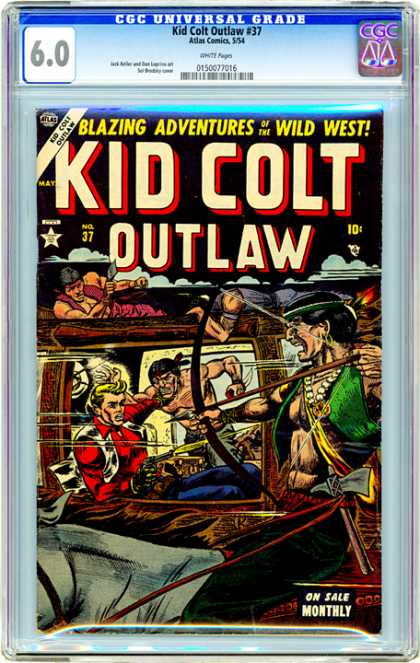 CGC Graded Comics - Kid Colt Outlaw #37 (CGC)