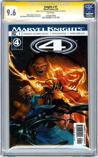 CGC Graded Comics - Knights 4 #1 (CGC)