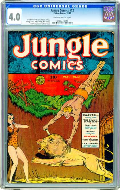 CGC Graded Comics - Jungle Comics #12 (CGC)