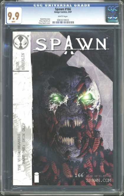 CGC Graded Comics - Spawn #166 (CGC)