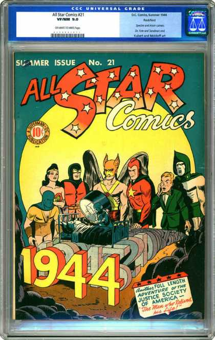 CGC Graded Comics - All Star Comics #21 (CGC)
