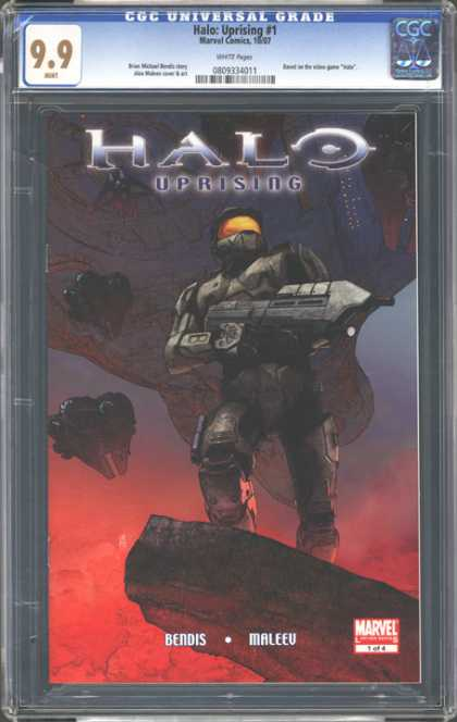 CGC Graded Comics - Halo: Uprising #1 (CGC)