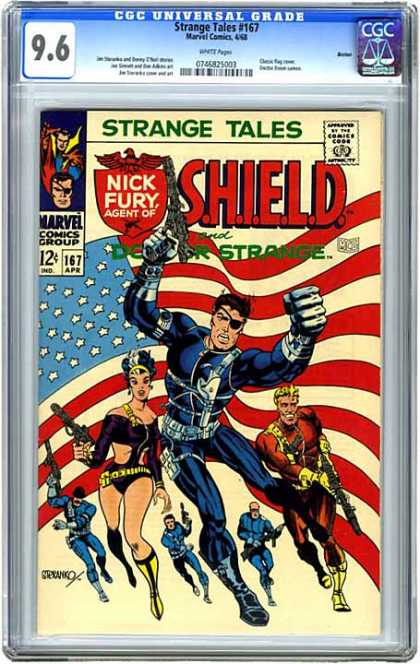 CGC Graded Comics - Strange Tales #167 (CGC)