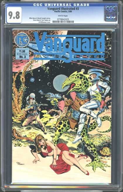 CGC Graded Comics - Vanguard Illustrated #3 (CGC)