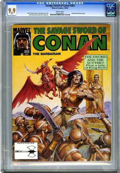 CGC Graded Comics - Savage Sword of Conan #202 (CGC)