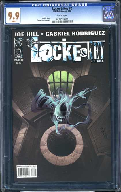 CGC Graded Comics - Locke & Key #2 (CGC) - Super Crazy - Villan Downfall - Super Hero - Fly Away - The Diamond Chiller