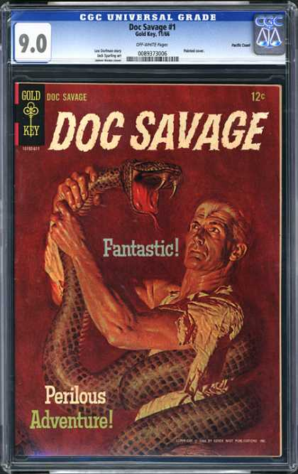 CGC Graded Comics - Doc Savage #1 (CGC)