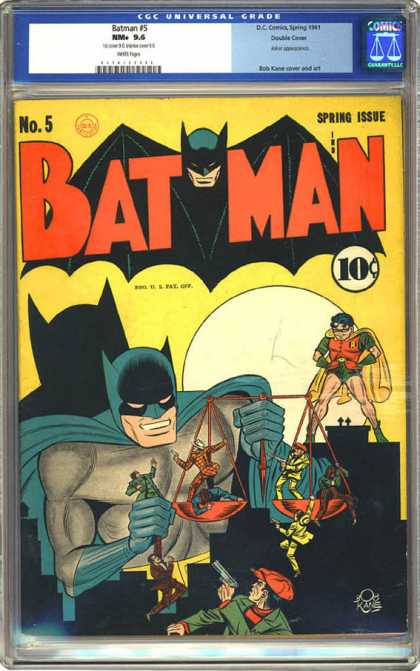 CGC Graded Comics - Batman #5 (CGC)