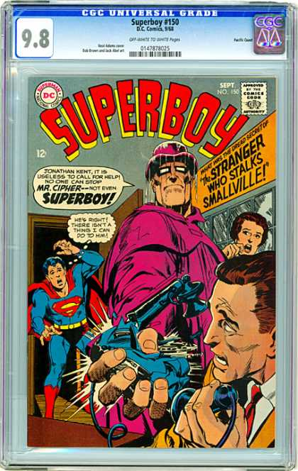 CGC Graded Comics - Superboy #150 (CGC)