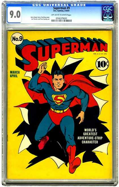 CGC Graded Comics - Superman #9 (CGC)