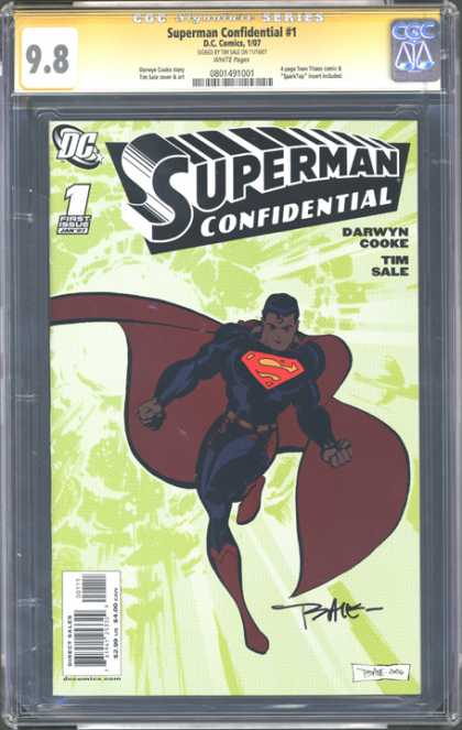 CGC Graded Comics - Superman Confidential #1 (CGC)