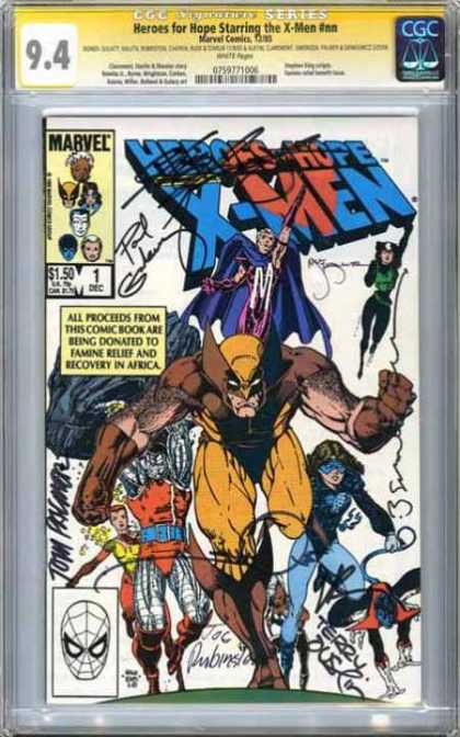CGC Graded Comics - Heroes for Hope Starring the X-Men #nn (CGC)