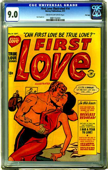 CGC Graded Comics - First Love Illustrated #14 (CGC)