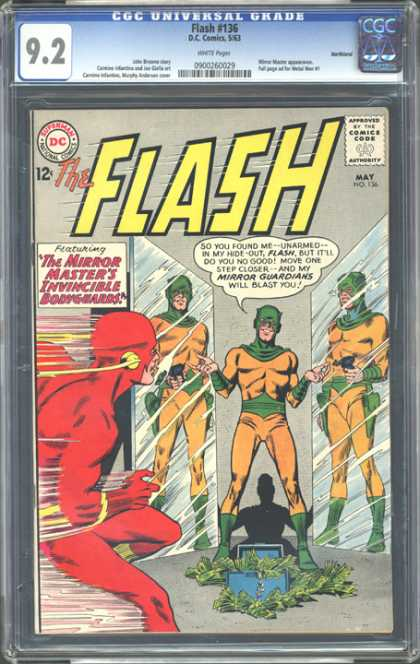 CGC Graded Comics - Flash #136 (CGC) - Mirrors - Fast - Guardians - Money - Shadow