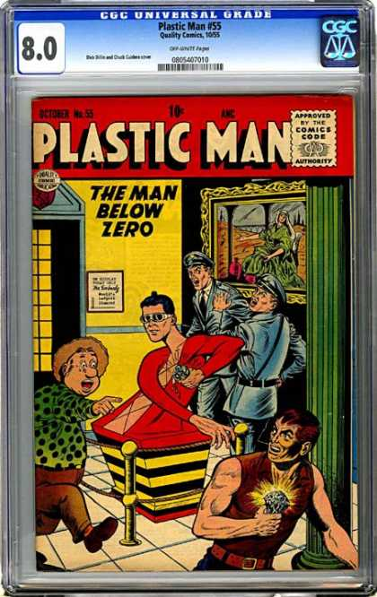 CGC Graded Comics - Plastic Man #55 (CGC)