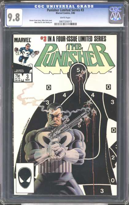 CGC Graded Comics - Punisher Limited Series #3 (CGC)