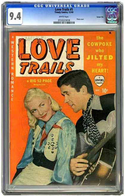 CGC Graded Comics - Love Trails #1 (CGC)