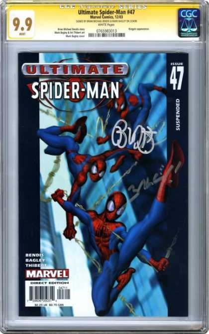 CGC Graded Comics - Ultimate Spider-Man #47 (CGC)