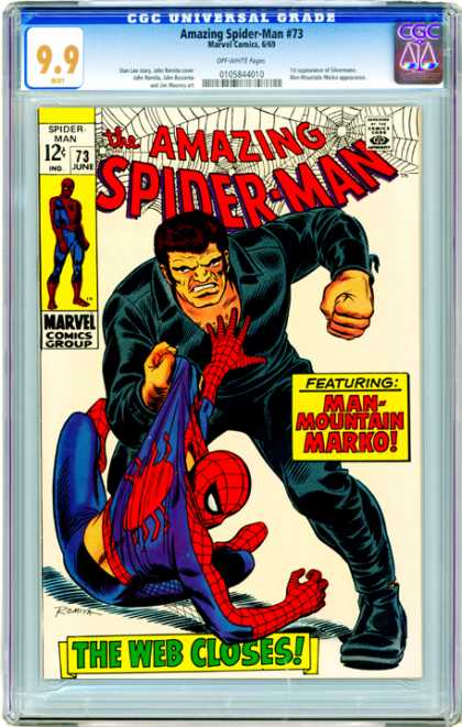 CGC Graded Comics - Amazing Spider-Man #73 (CGC)