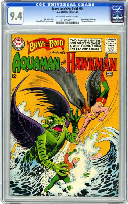 CGC Graded Comics - Brave and the Bold #51 (CGC)