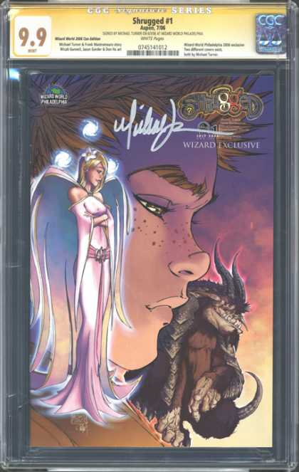 CGC Graded Comics - Shrugged #1 (CGC)