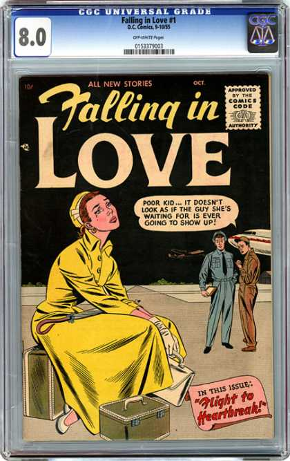 CGC Graded Comics - Falling in Love #1 (CGC)