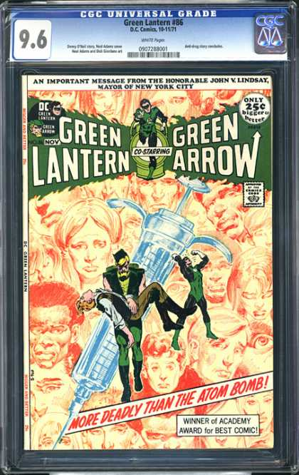 CGC Graded Comics - Green Lantern #86 (CGC)