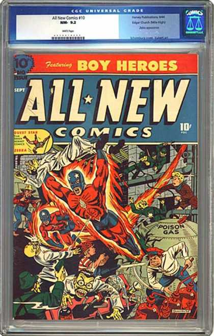 CGC Graded Comics - All New Comics #10 (CGC)