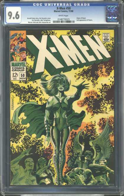 CGC Graded Comics - X-Men #50 (CGC)