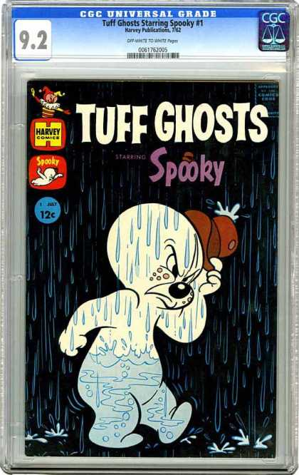 CGC Graded Comics - Tuff Ghosts Starring Spooky #1 (CGC)