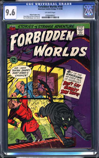 CGC Graded Comics - Forbidden Worlds #140 (CGC)