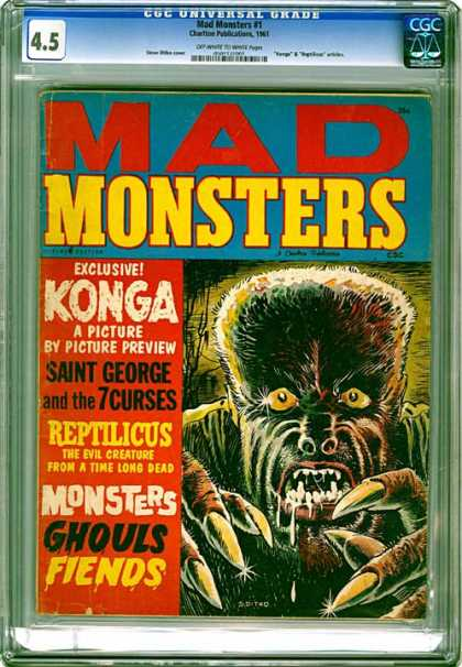 CGC Graded Comics - Mad Monsters #1 (CGC)