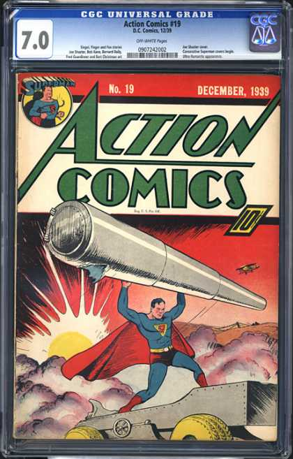 CGC Graded Comics - Action Comics #19 (CGC)