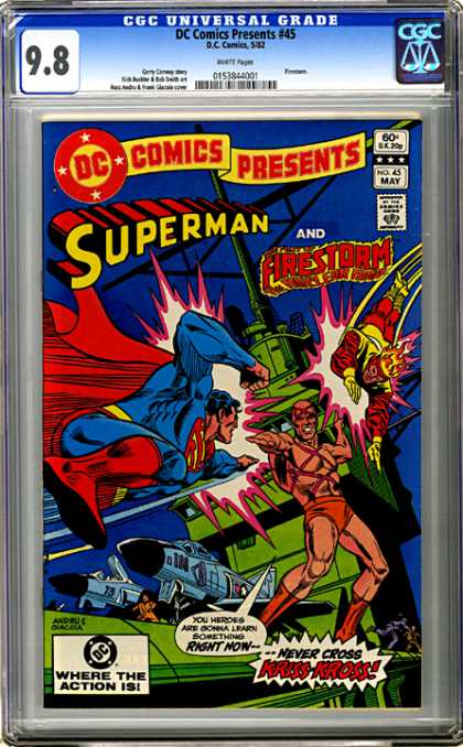 CGC Graded Comics - DC Comics Presents #45 (CGC)