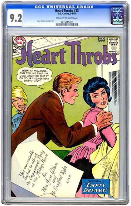 CGC Graded Comics - Heart Throbs #82 (CGC)
