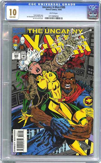 CGC Graded Comics - Uncanny X-Men #305 (CGC)
