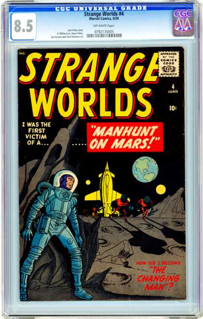 CGC Graded Comics - Strange Worlds #4 (CGC)